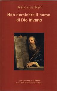 Copertina libro su Bibbia