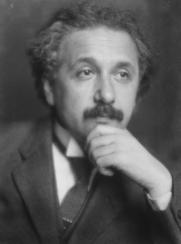 Einstein 1921. E.O. Hoppe per Life