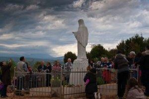 Medjugorje- Il monte delle apparizioni Bosnia_Herzegovina_Apr-24-2012_
