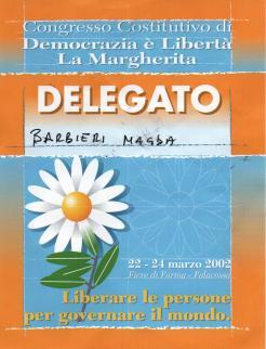 Congresso Costitutivo Margherita