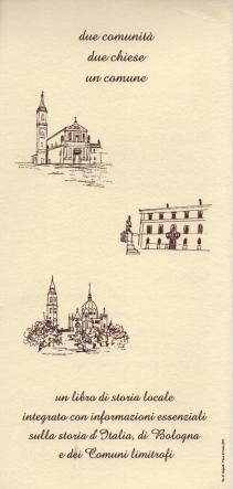 Depliant presentazione vol. II con disegni di Gianni Sevini