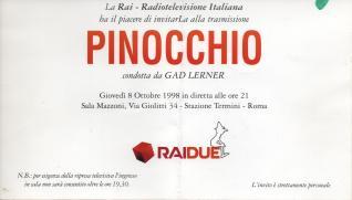 Invito a trasmissione Gad Lerner, per governo Prodi, 2008